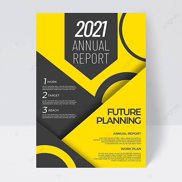 yellow gray business 2021 trend color annual report