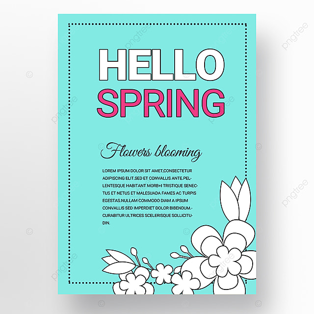cyan simple creative new year poster promotion template