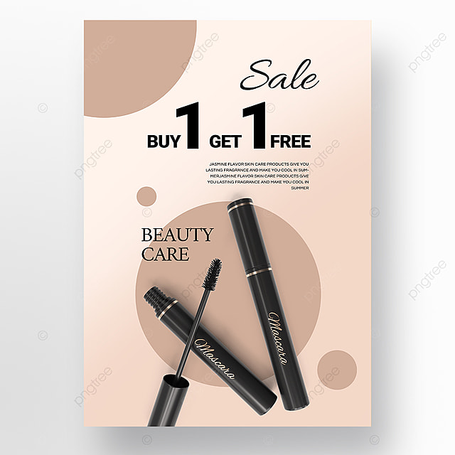 simple gradient texture beauty product promotion poster promotion template