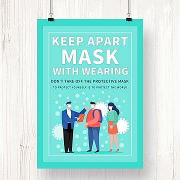gambar poster promosi tema pejabat rumah wabak fesyen