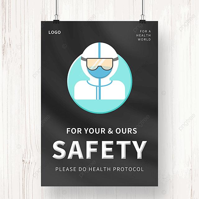simple epidemic public welfare poster