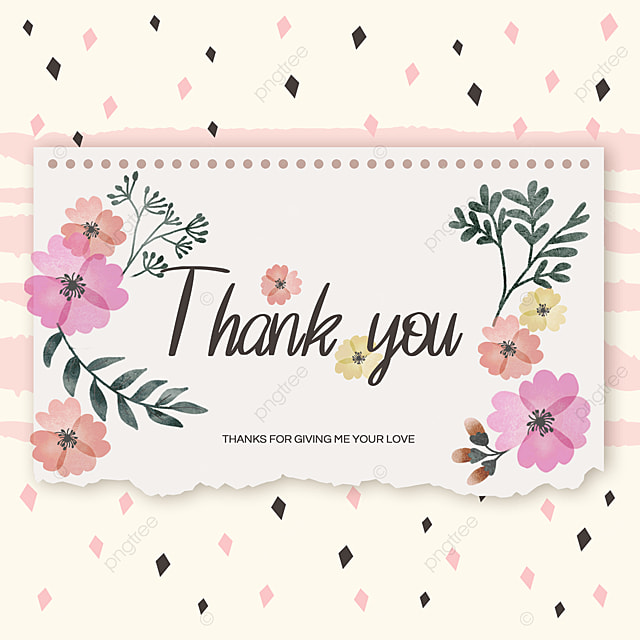 spring flowers thank you mood ad
