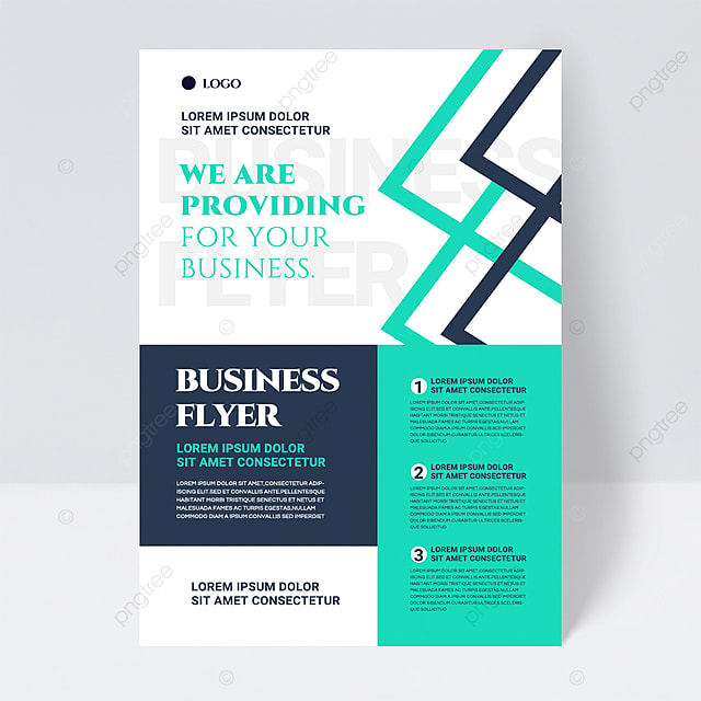 color simple texture green shape abstract business flyer