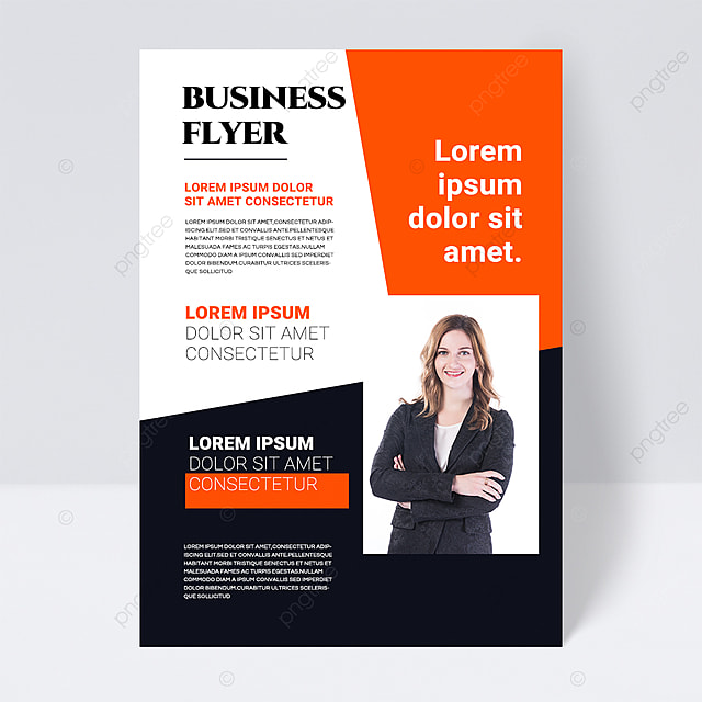 color simple texture red shape abstract business flyer