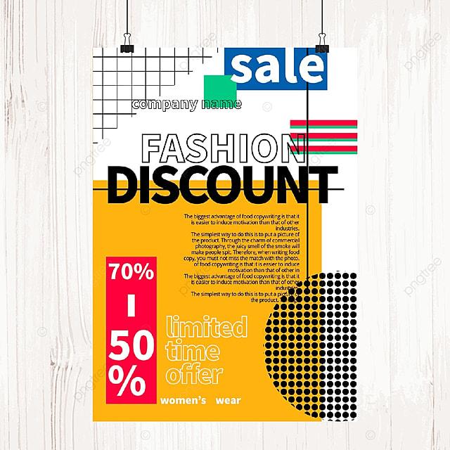 memphis sale sale poster template