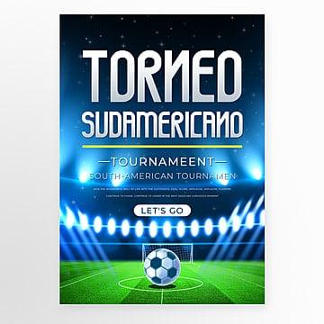 Синее оборудование южноамериканский футбол шаблон Шаблон