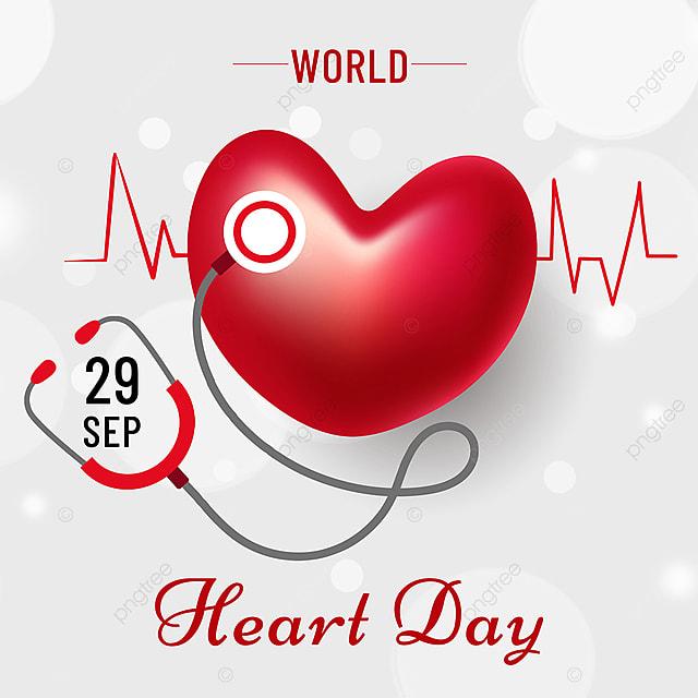 simple high end creative light effect love world heart daily media social template
