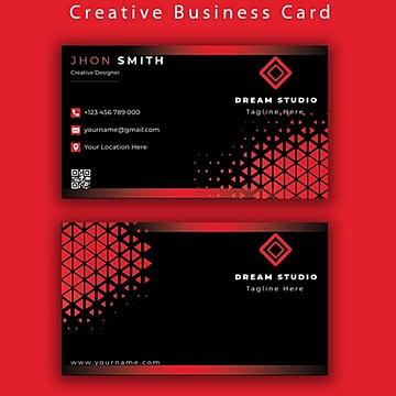креативная визитка Шаблон