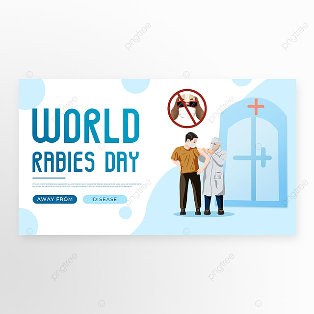 doodle blue world rabies template