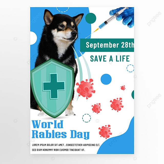 blue world rago day promotion flyer