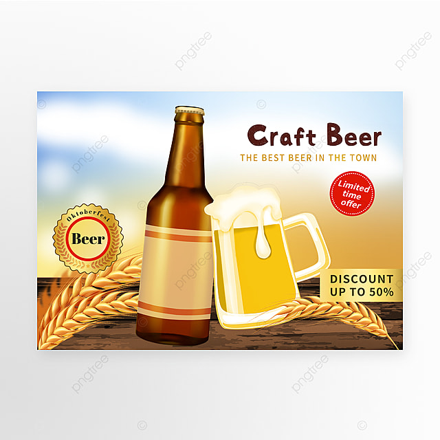 brewery sales promotion template