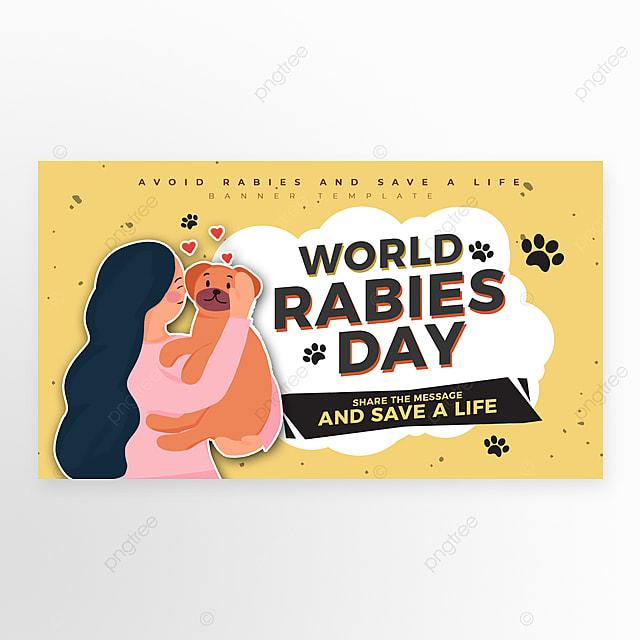 cartoon simple world rago day web banner