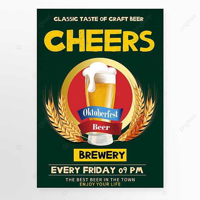 vintage beer sales promotion poster