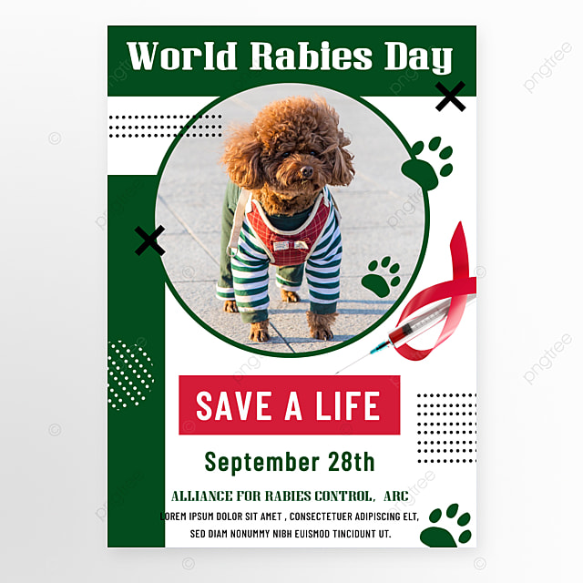 green world rago day promotion flyer