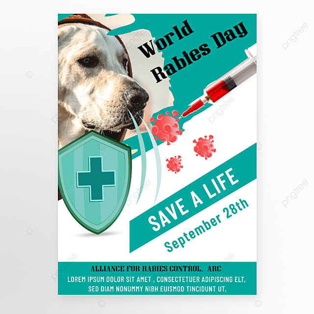 simple green world rabies day promotion