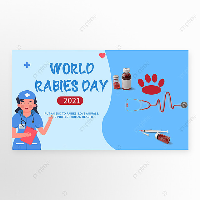 blue world rabies day