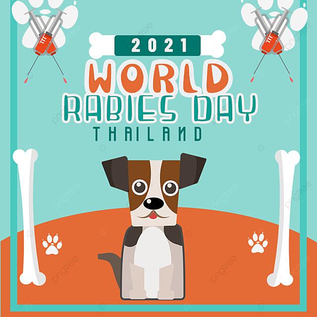 world rabies day cute cartoon puppy