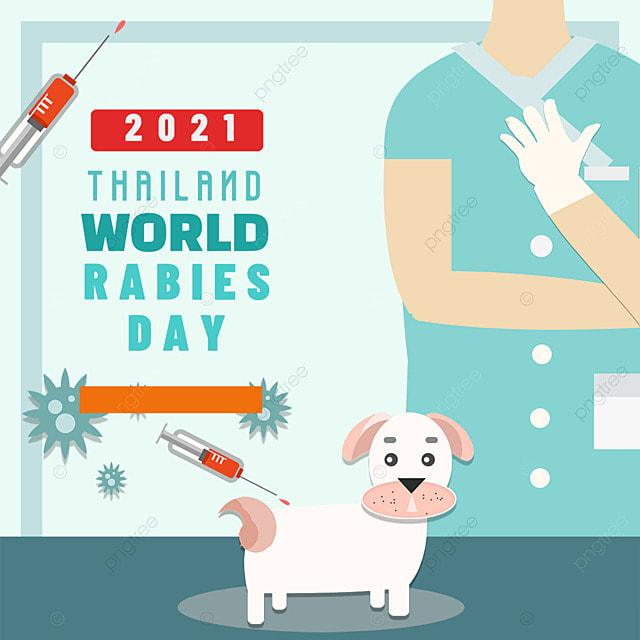 world rabies day vet doctor vaccine puppies