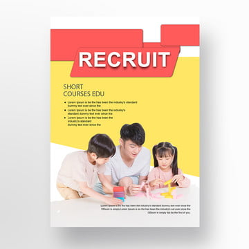Job Fair Flyer Template For Free Download On Pngtree