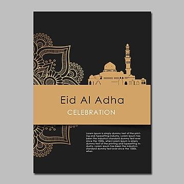 eid al adha poster 2 Template