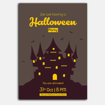 Halloween Poster, Halloween Poster, Halloween Poster Design, Halloween Graphics Design PNG and Vector