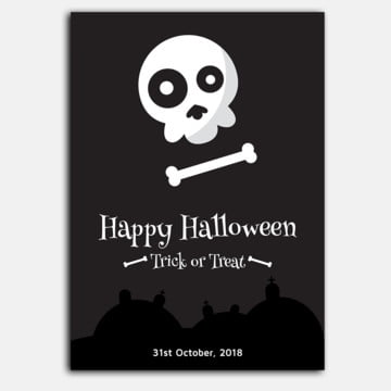 Halloween Poster3, Halloween Poster, Halloween Poster Design, Halloween Graphics Design PNG and Vector
