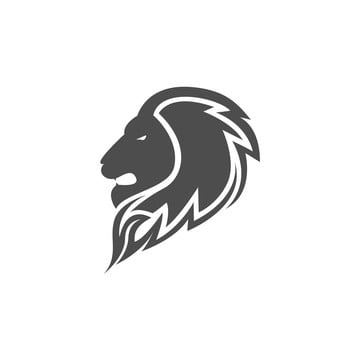 Head Lion Logo Vector Design Template For Free Download On Pngtree