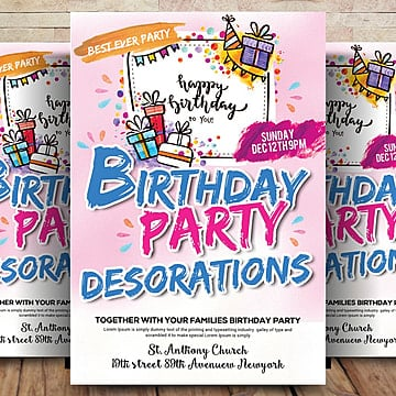 party flyer template png vectors psd and clipart for free