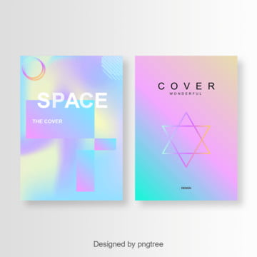 fashion gradien cover design Template