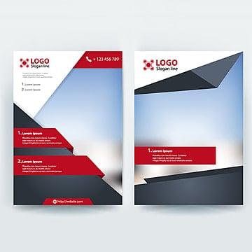 корпоративный бизнес листовки брошюры векторный дизайн шаблона Шаблон