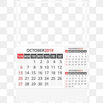 October 2019 Png Images Vectors And Psd Files Free Download On