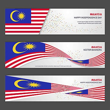 malaysia independence day abstract background design banner and Template
