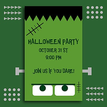 Halloween Frankenstein - Poster, Png, Halloween, Halloween Party PNG and Vector
