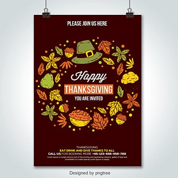 thanksgiving flyer templates 52 design templates for free download