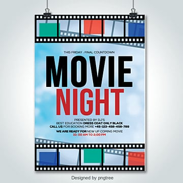 Movie Poster PNG Images | Vector and PSD Files | Free Download on