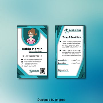 Id Card PNG Images | Vector and PSD Files | Free Download on