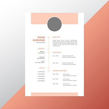 Resume Design Png Vector Psd And Clipart With Transparent