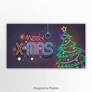 modern fashion cartoon christmas banner Template