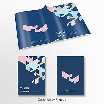 the dark blue abstract elements the album cover for the drug design templates Template