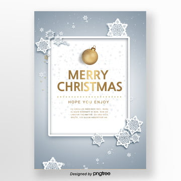 a letter of invitation  blue snow gold font support Template