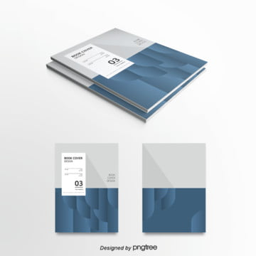blue business gradually changed to cover Template