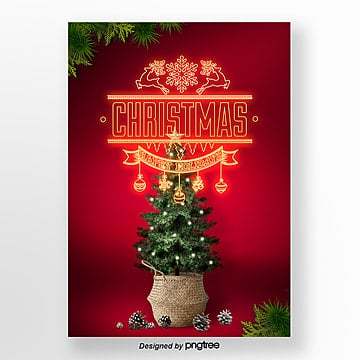 propaganda poster art print christmas neon light Template