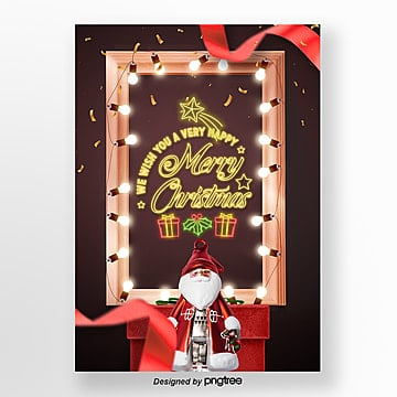 fashion fashion christmas neon light advertising, Advanced, The Neon Lights, Festival PNG and PSD