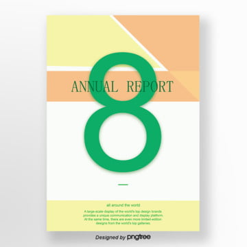 the annual report about a business newspaper, Vintage, Yellow, Green PNG and Vector