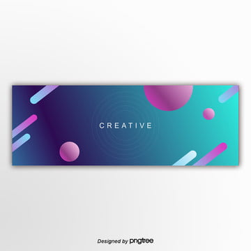 the color gradually changes banner triangle abstract background Template