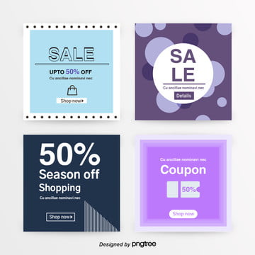 the promotion sns tray for shopping Template