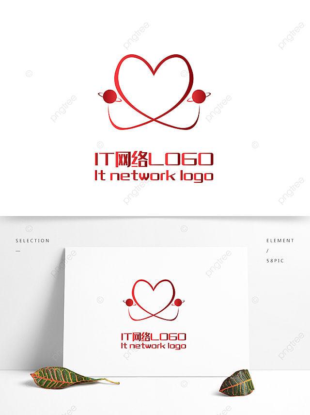 Modèle De Logo Amour Vecteur Modèle De Logo Amour