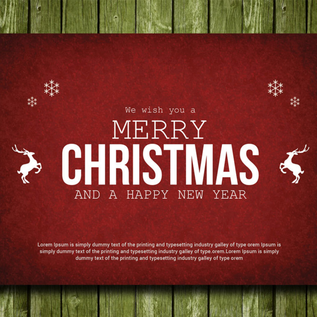 Christmas Card Template For Free Download On Pngtree - Christmas cards templates free downloads