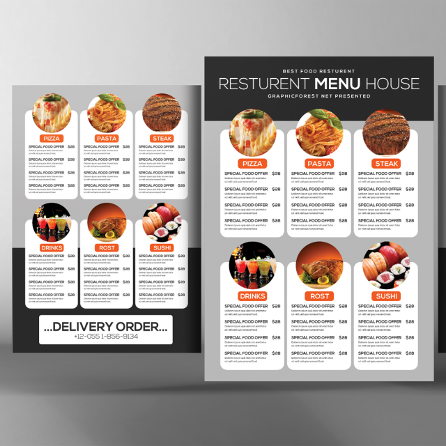 asia food menu psd Template for Free Download on Pngtree