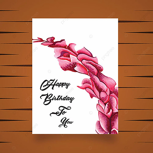 Birthday Greeting Cards Template For Free Download On Pngtree